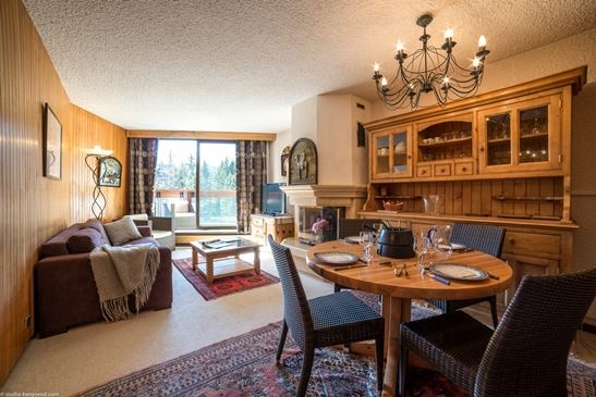 3 rooms, 6 people ski-in ski-out / Domaine du Jardin Alpin 405B (mountain of charm)