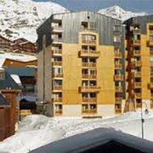 CIMES DE CARON 1107 / STUDIO 4 PERSONS - 2 SILVER SNOWFLAKES - CI