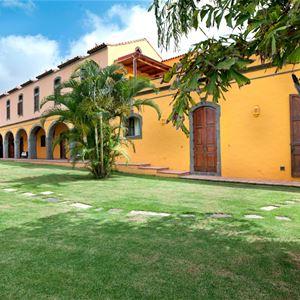 Trädgård på Hotell Christina, Las Palmas Gran Canaria