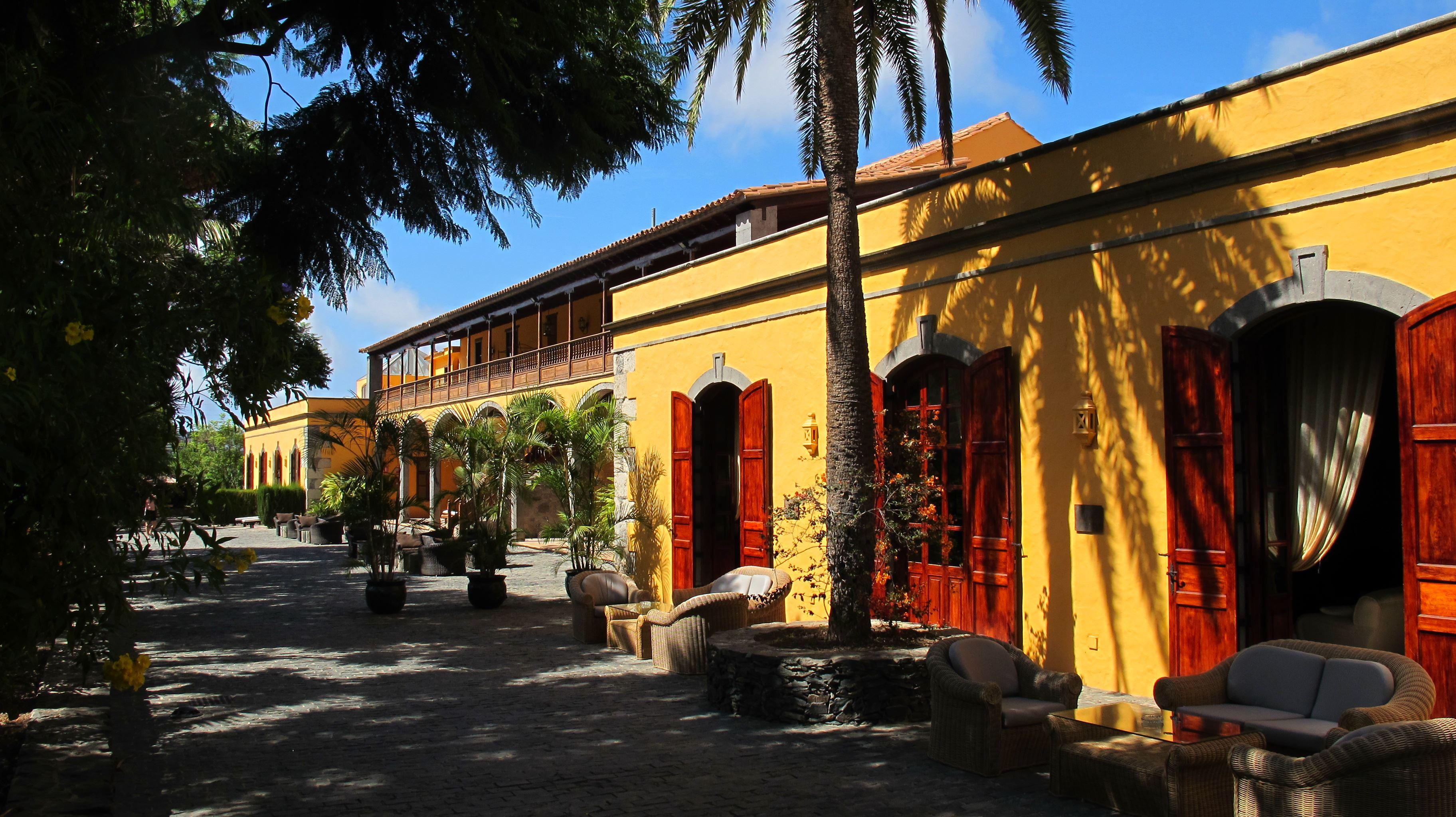 Terass på Hotell Christina, Las Palmas Gran Canaria