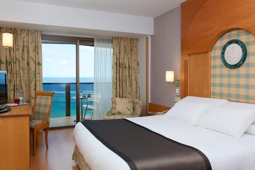Dubbelrum med havsutsikt, Hotell Cristina, Las Palmas Gran Canaria