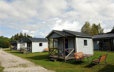 Strandskogens Camping cabins