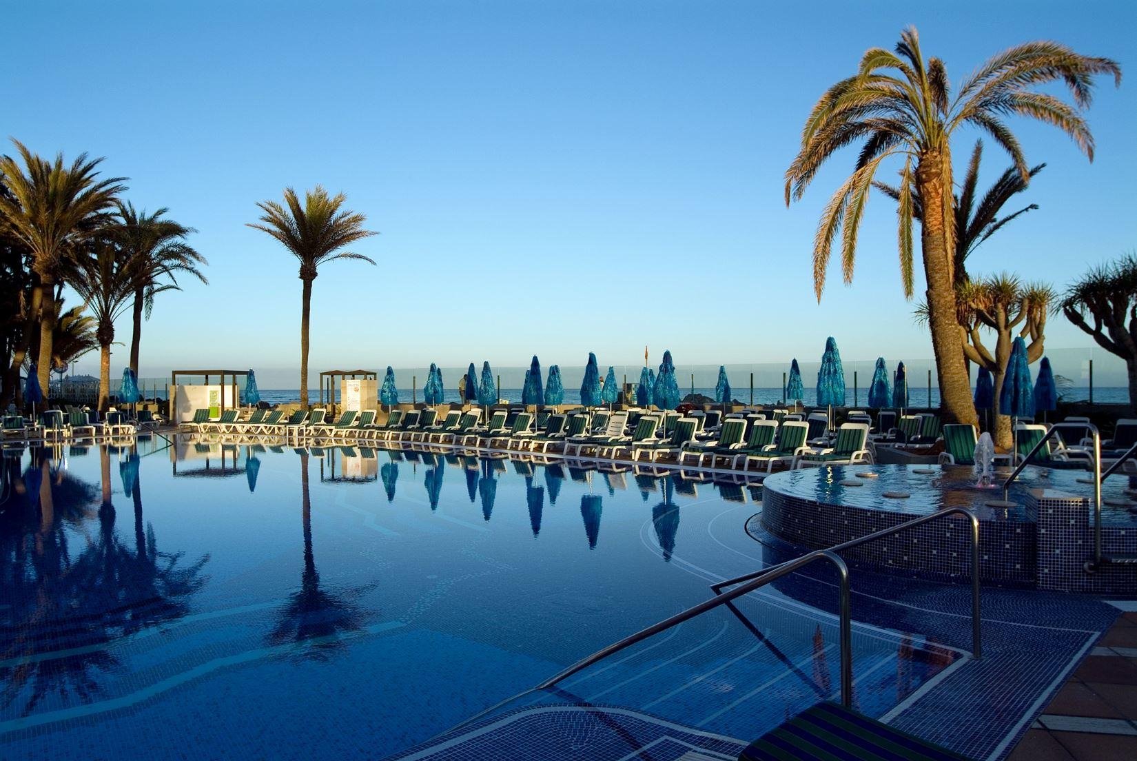 Pool på IFA Faro Hotell, Maspalomas Gran Canaria