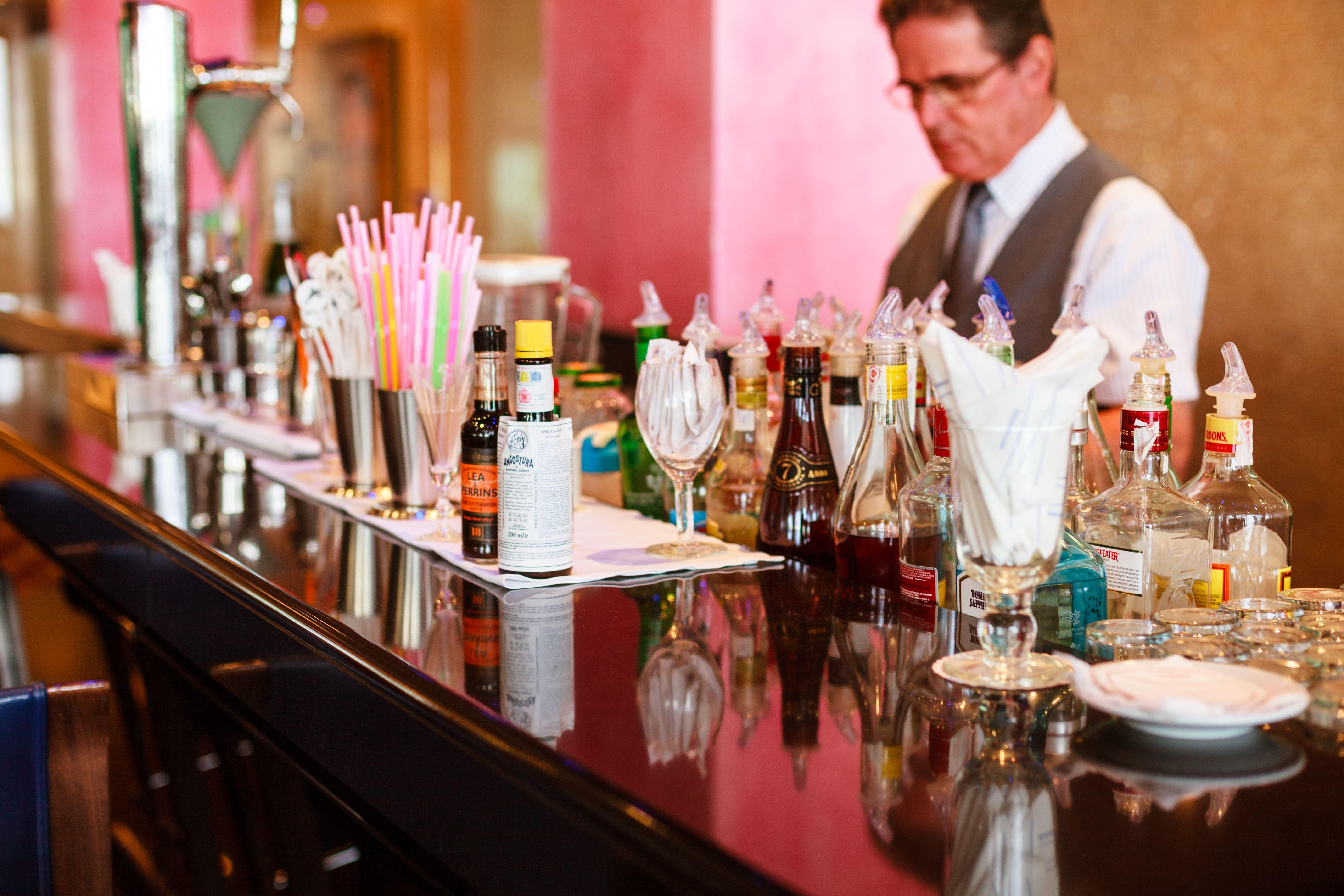 Bar på IFA Faro Hotell, Maspalomas Gran Canaria, Signaturresor