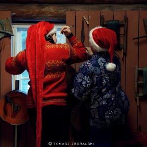 © Tomasz Zboralski, Gammeldags jul på Å