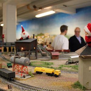 Visit Tågcentralen in Ljungby