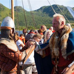 Kjell Ove Storvik ,  © Kjell Ove Storvik/Lofotr Vikingmuseum , Viking Festival at Lofotr Viking Museum