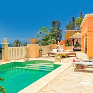 Privat pool Royal Garden Villas, Adeje Teneriffa