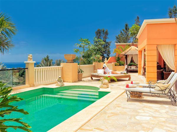 Privat pool Royal Garden Villas, Adeje Teneriffa