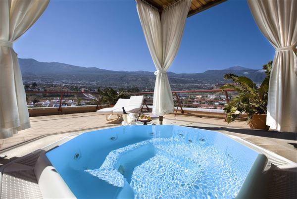 Privat jacuzzi på Hotell Botanico & The Oriental Spa Garden, Puerto de la Cruz Teneriffa