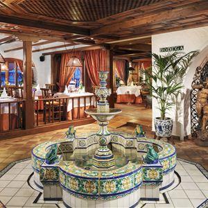 Restaurang på Hotell Botanico & The Oriental Spa Garden, Puerto de la Cruz Teneriffa