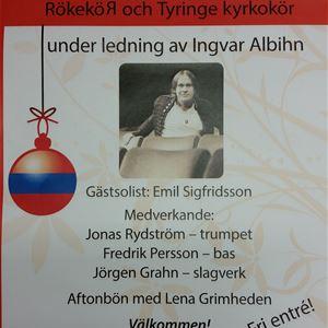 Julkonsert i Röke kyrka