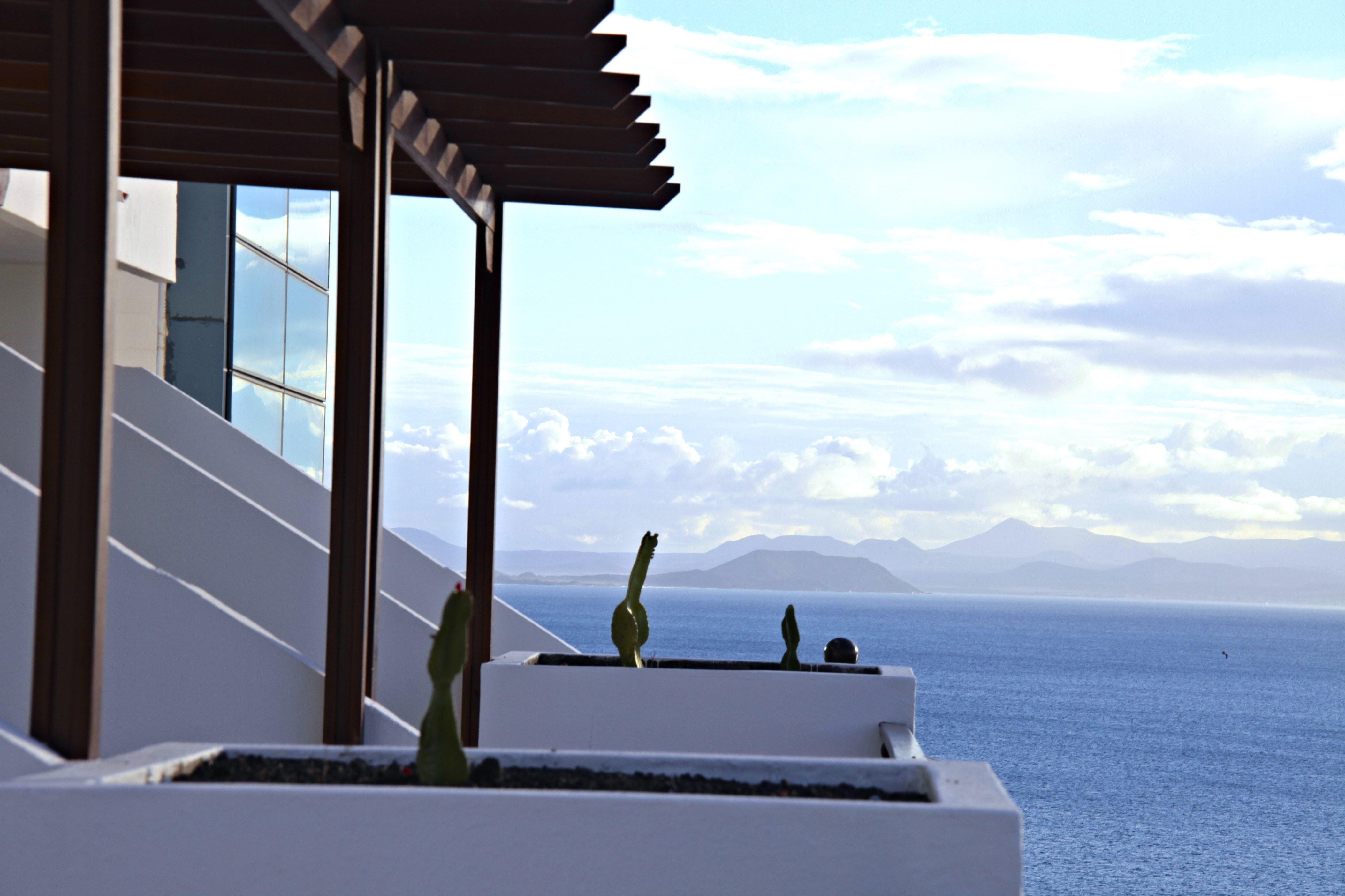 Utsikt över havet på Hotell Sandos Papagayo Beach Resort, Playa Blanca Lanzarote