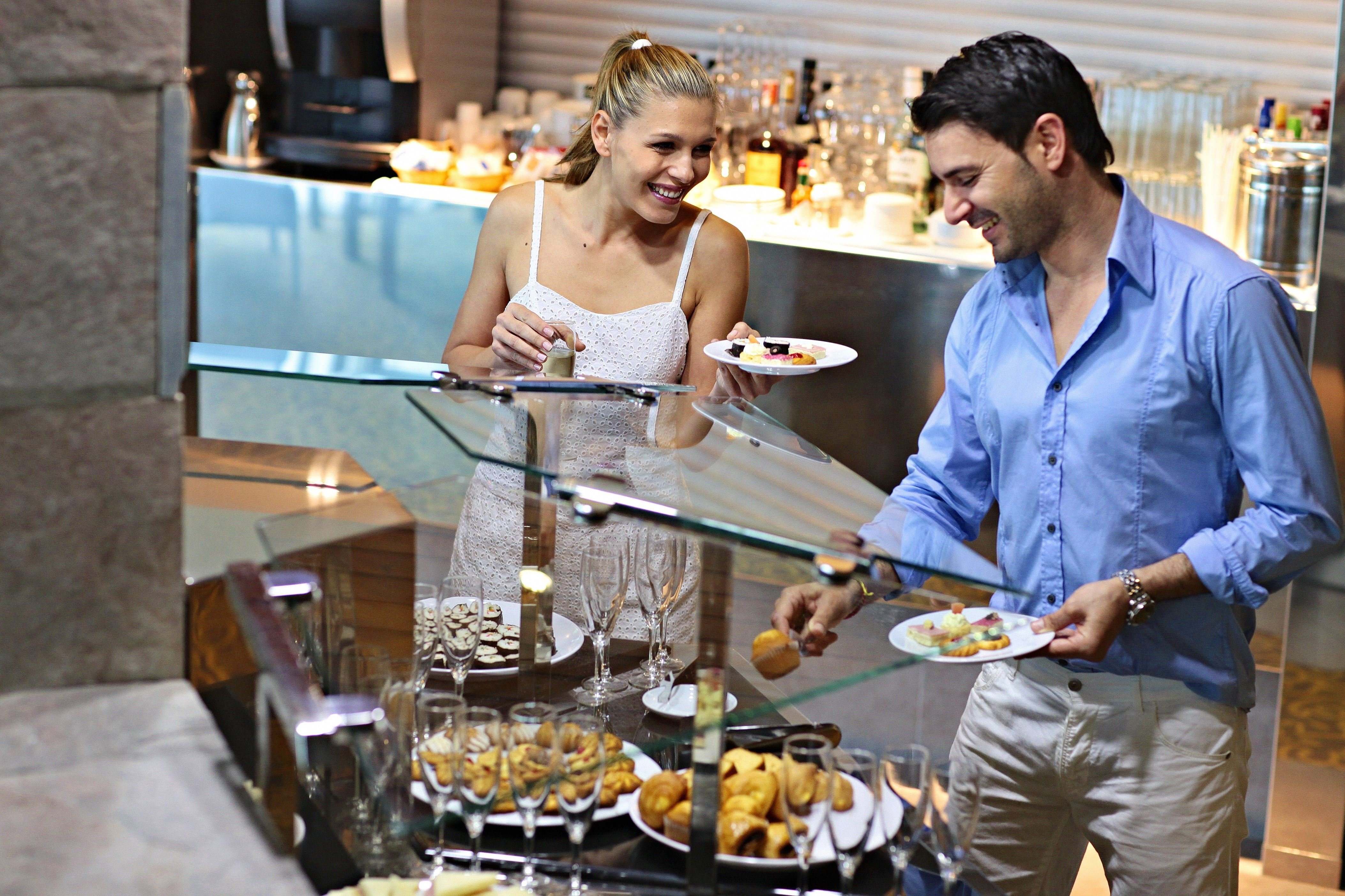 Restaurang på Hotell Sandos Papagayo Beach Resort, Playa Blanca Lanzarote