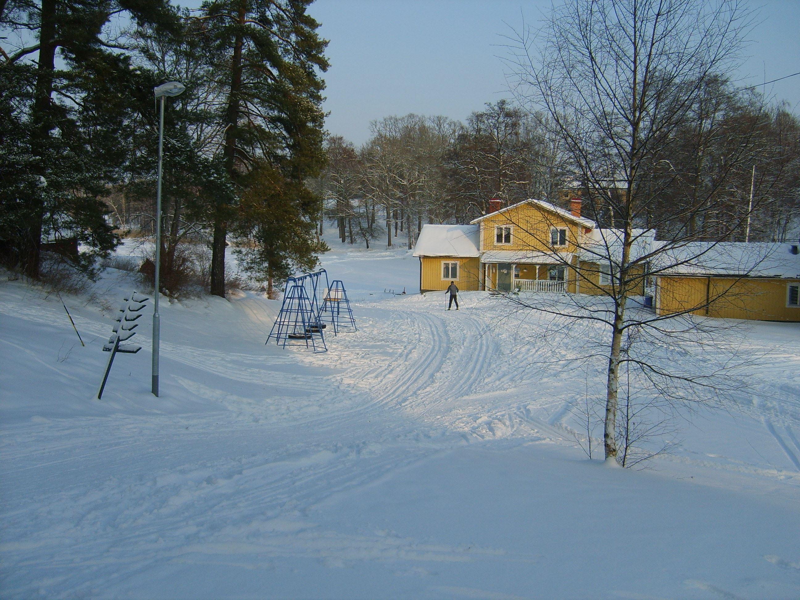 Helgservering i Tveta Friluftsgård