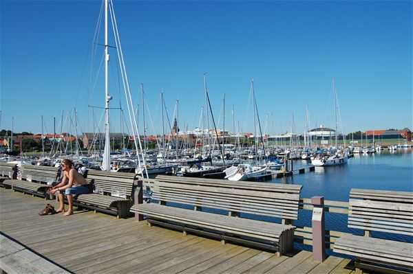 Die Marina in Ystad