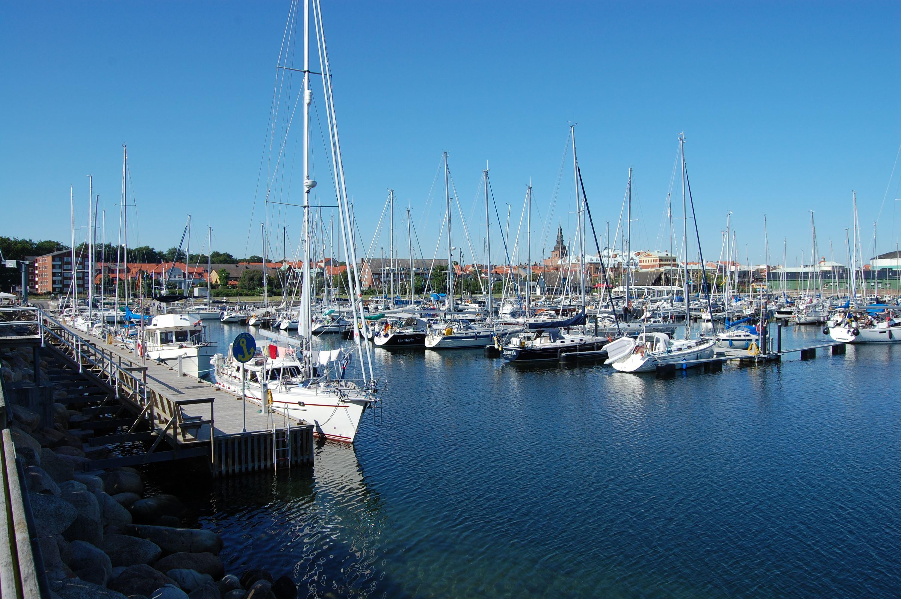 Marinaen i Ystad