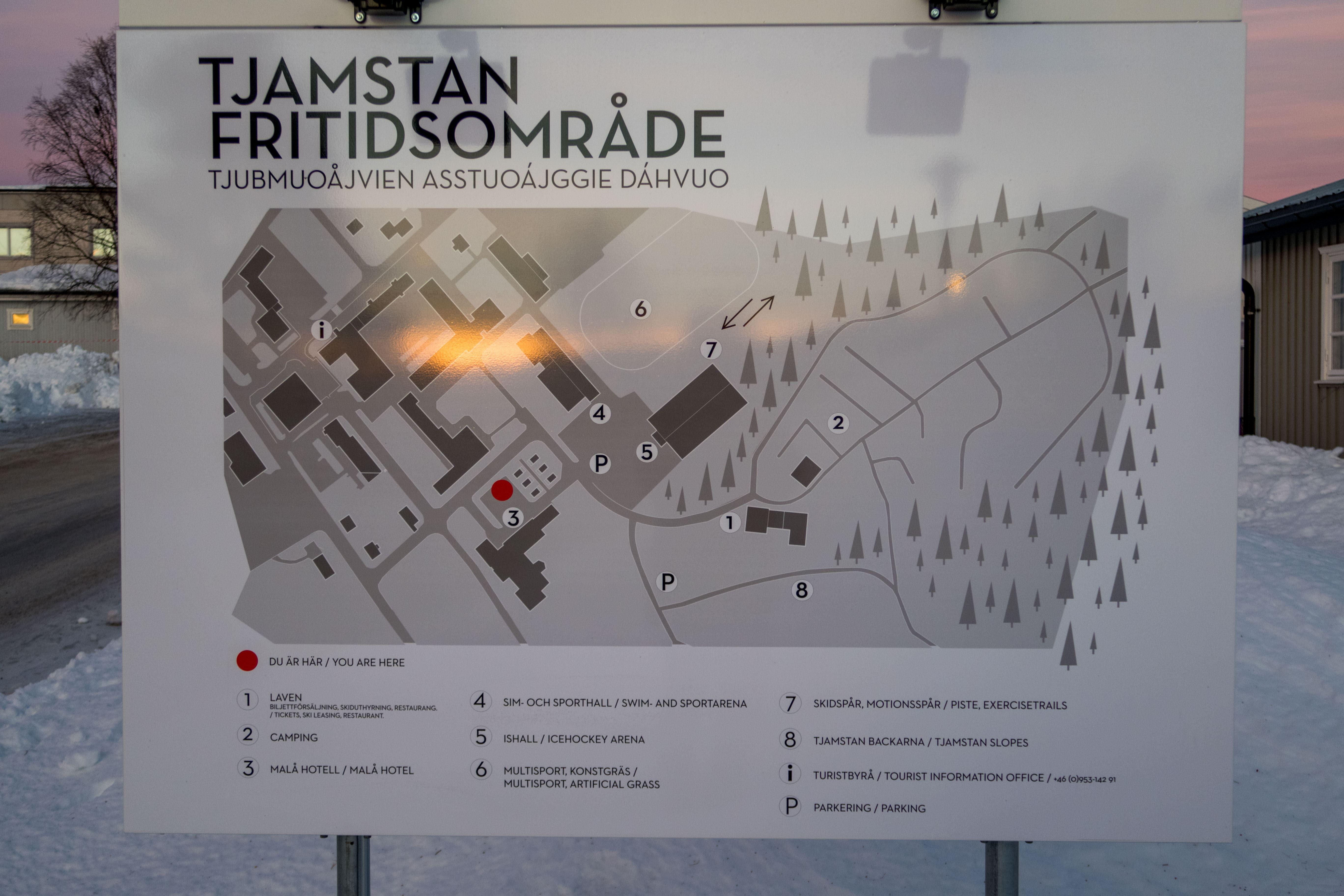 www.ricke.se,  © Malå kommun , Skidspår- Tjamstans fritidsområde