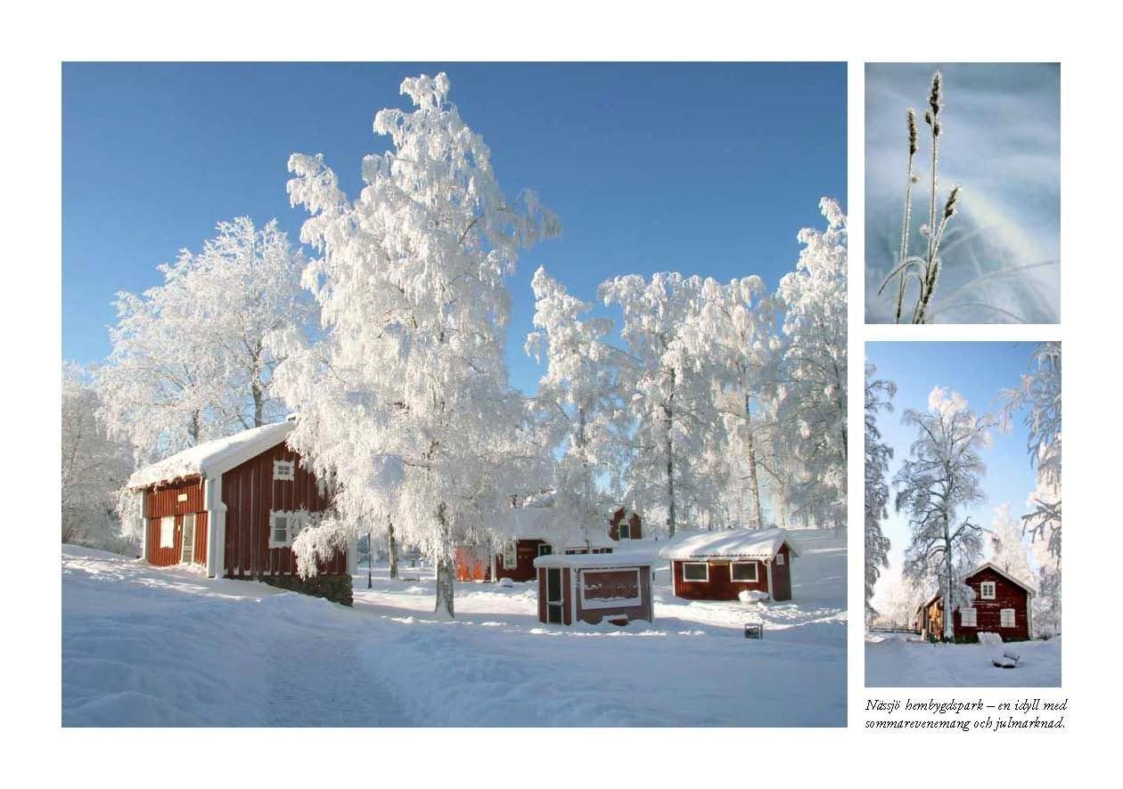 Julmarknad i Hembygdsparken i Nässjö