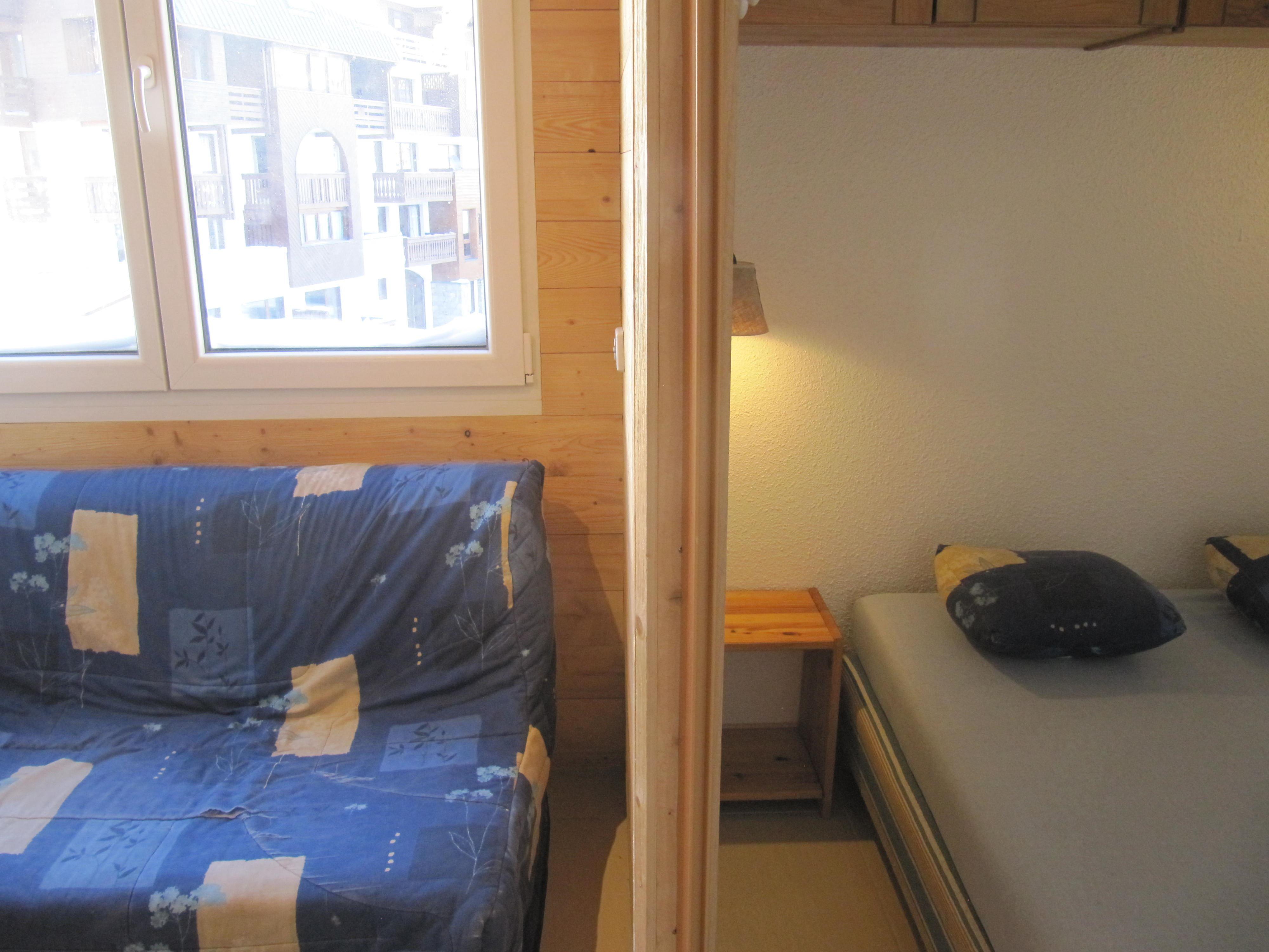 Cimes de Caron 2200 > 2 Rooms + Cabin - 4 persons - 2 Bronze Snowflakes (MCI)