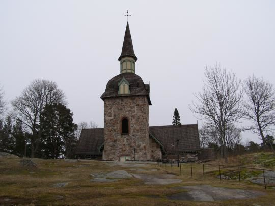 Föglö kyrka - S:ta Maria Magdalena