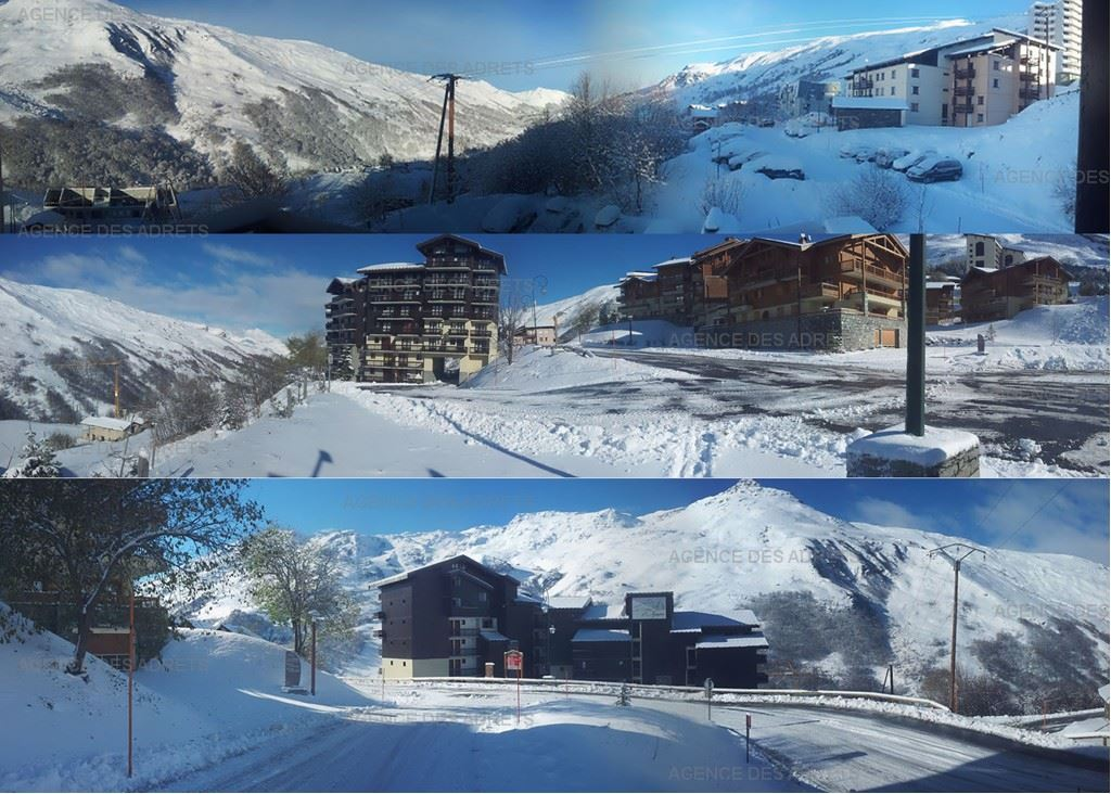 2 Room 4 Pers ski-in ski-out / BALCONS D'OLYMPIE 201