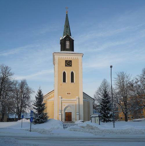 Weihnachten in der Ljungby Kirche