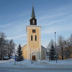 Jul i Ljungby kyrka