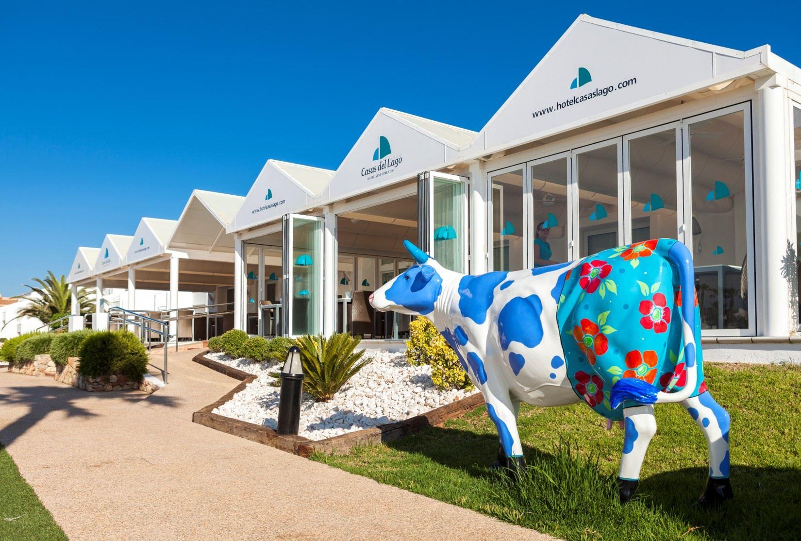 Exteriör Hotell Casas Del Lago & Beach Club, Cala'n Bosch Menorca