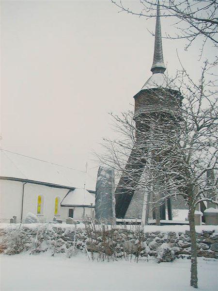 Weihnachten in der Kirche zu Angelstad