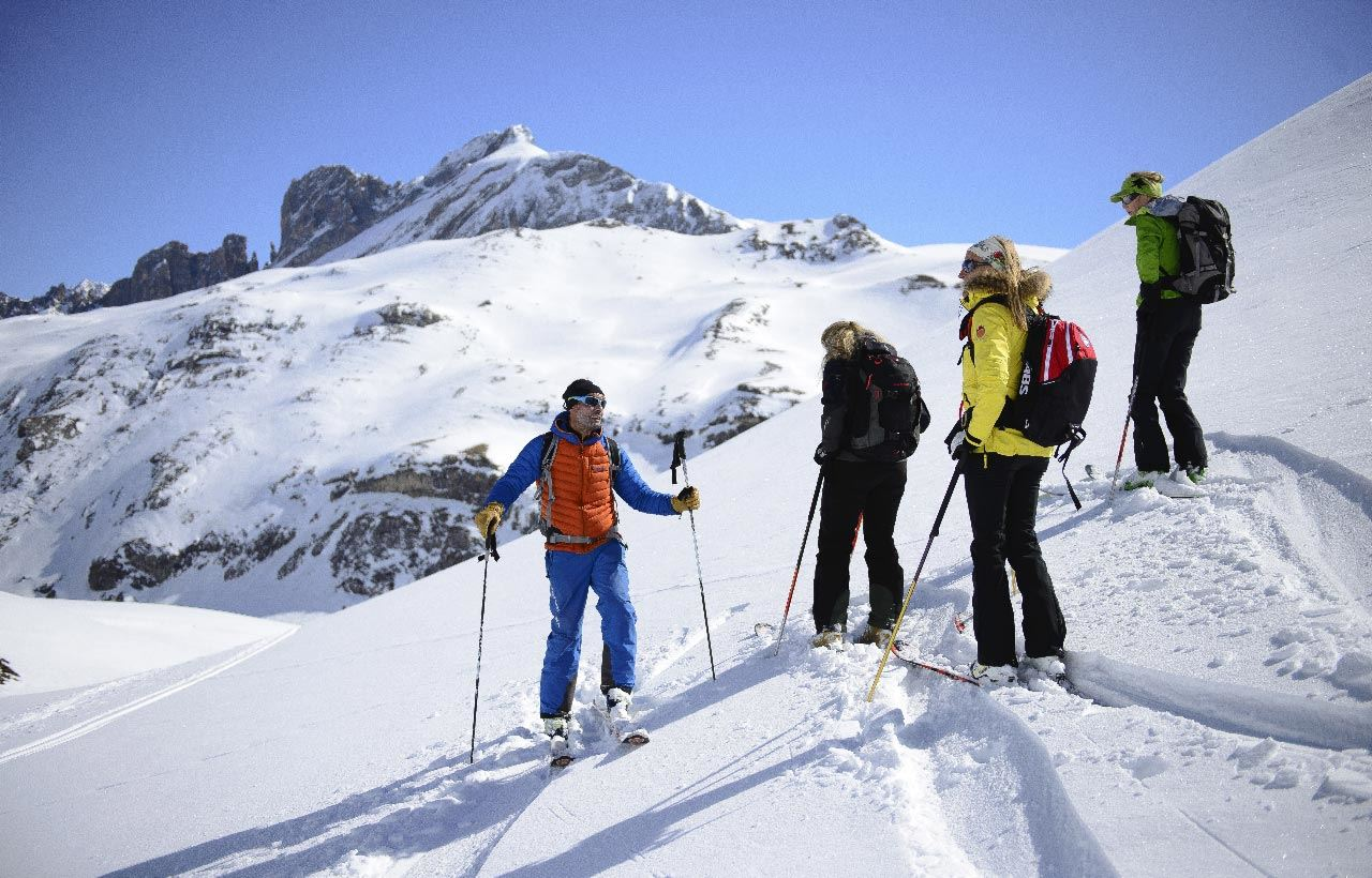 BUREAU DES GUIDES: Off-piste for Dummies (for 4 people maximum)