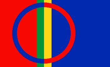 © Malå kommun, Samisk flagga