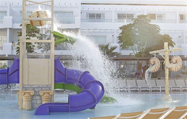 Vattenpark på Hotell Lanzarote Aequora Suites, Puerto del Carmen