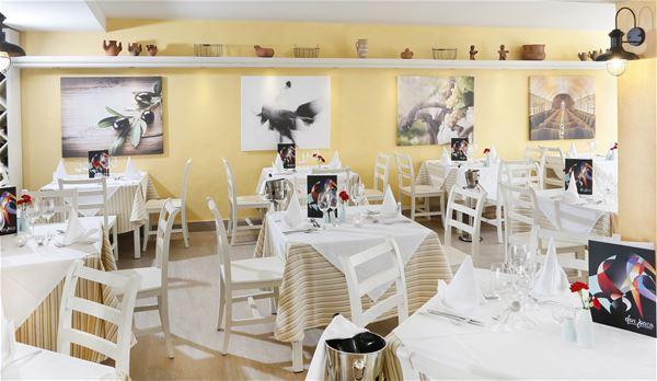 Restaurang på Hotell Lanzarote Aequora Suites, Puerto del Carmen