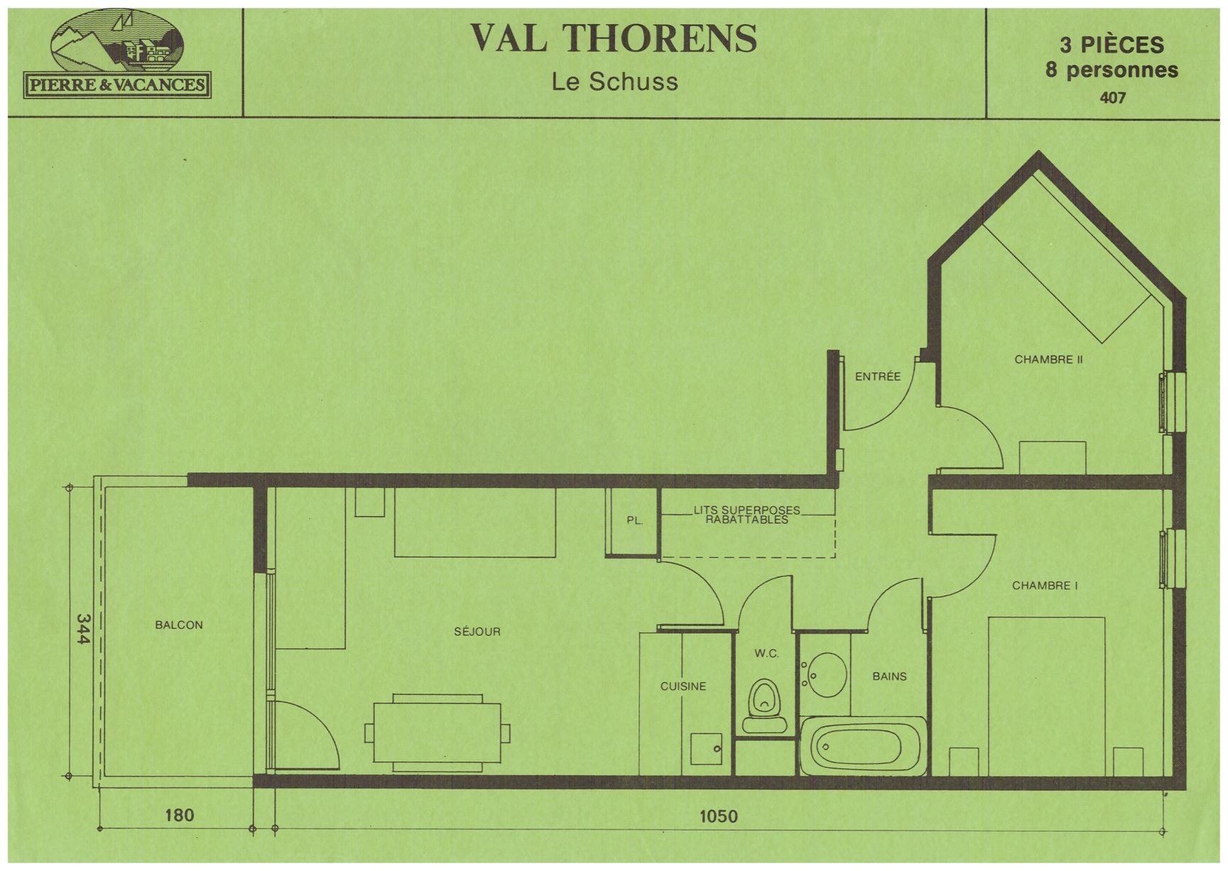 Résidence Schuss - Appartement - 3 pièces - 8 personnes (ABR)