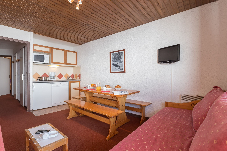 Résidence Le Schuss - Appartement - 2 pièces - 8 personnes (ABR)