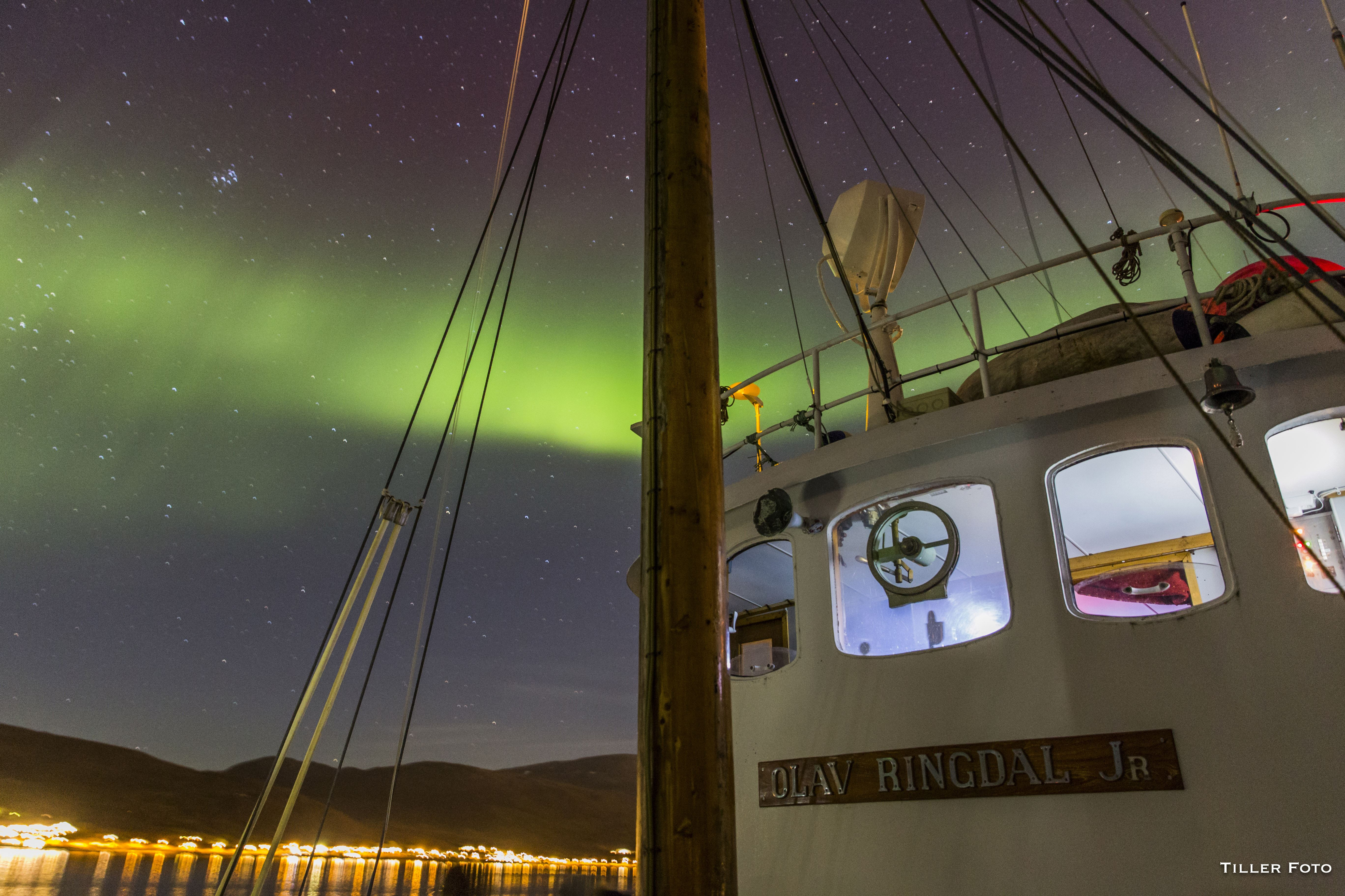 Northern Lights Cruise on the world's smallest cruise boat – Northern Sea Adventure