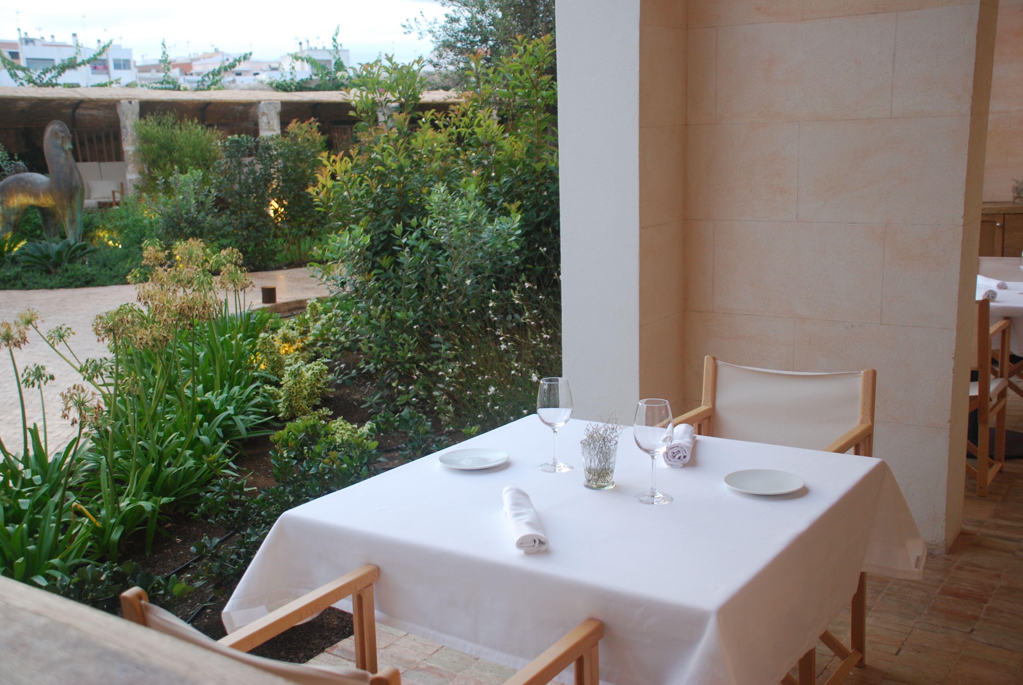 Restaurang på Hotell Can Faustino, Ciutadella Menorca