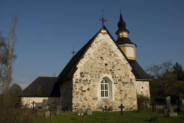 Kumlinge church - S:ta Anna