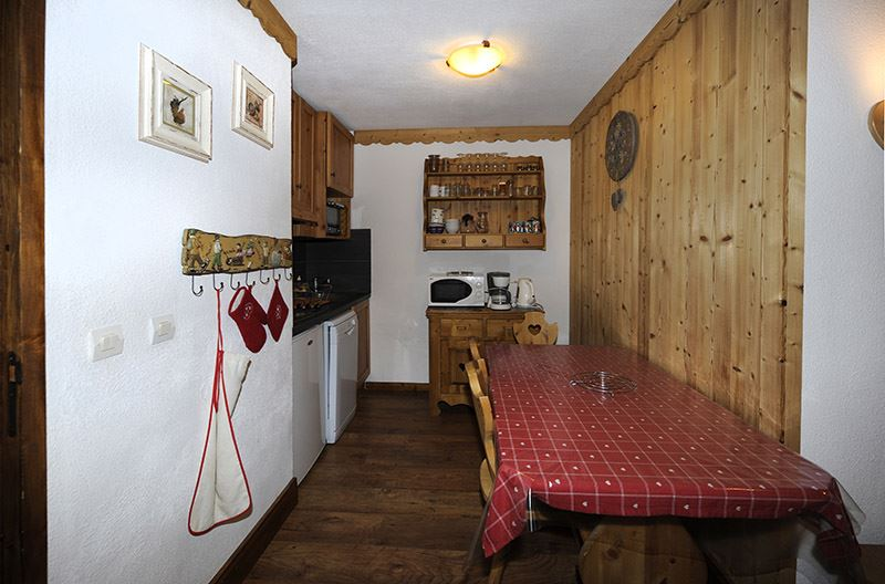 2 Rooms + cabin 5 Pers ski-in ski-out / BALCONS D'OLYMPIE 104