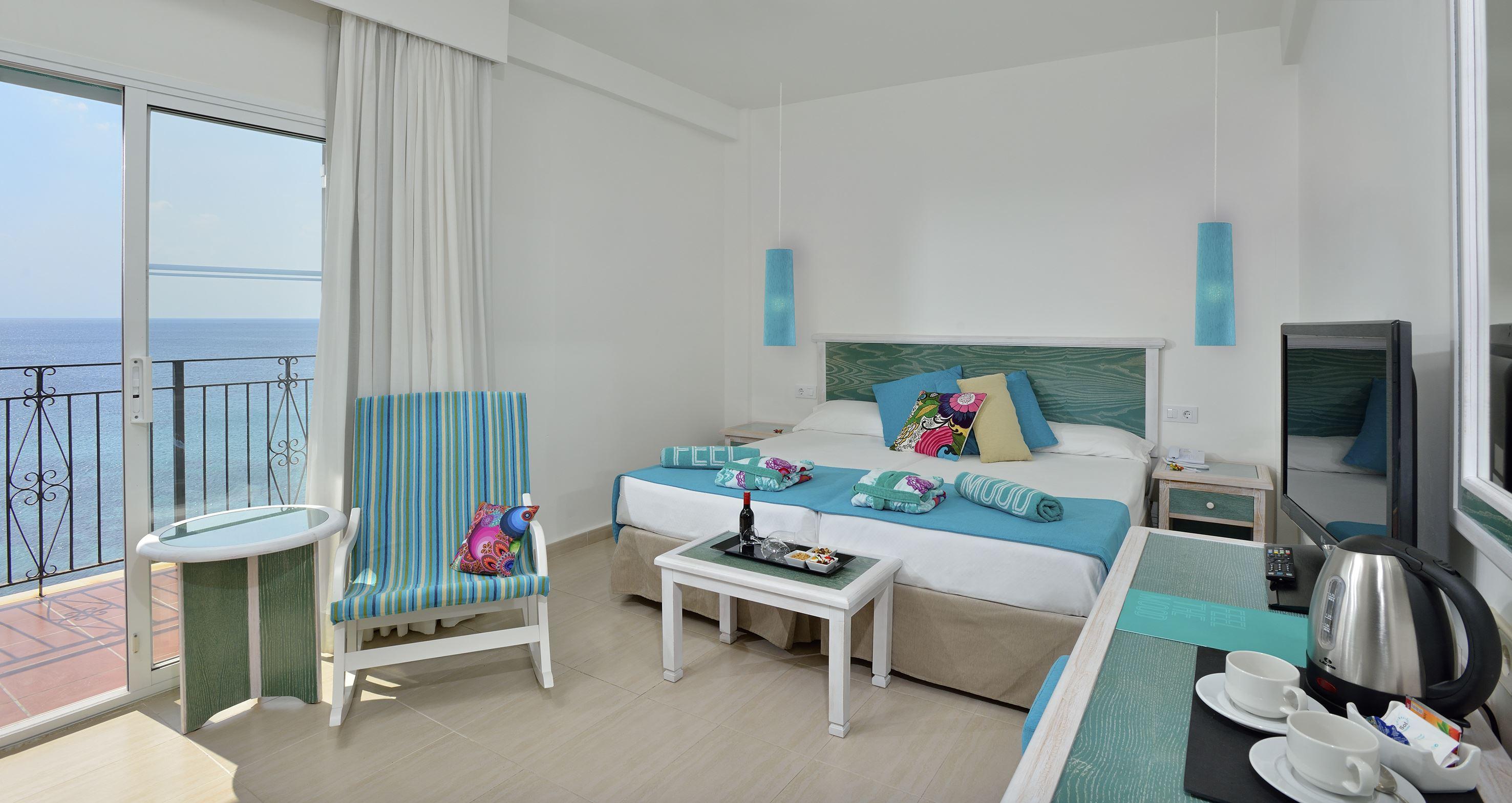 Superior rum på Hotell Sol Beach House, Santo Tomas Menorca