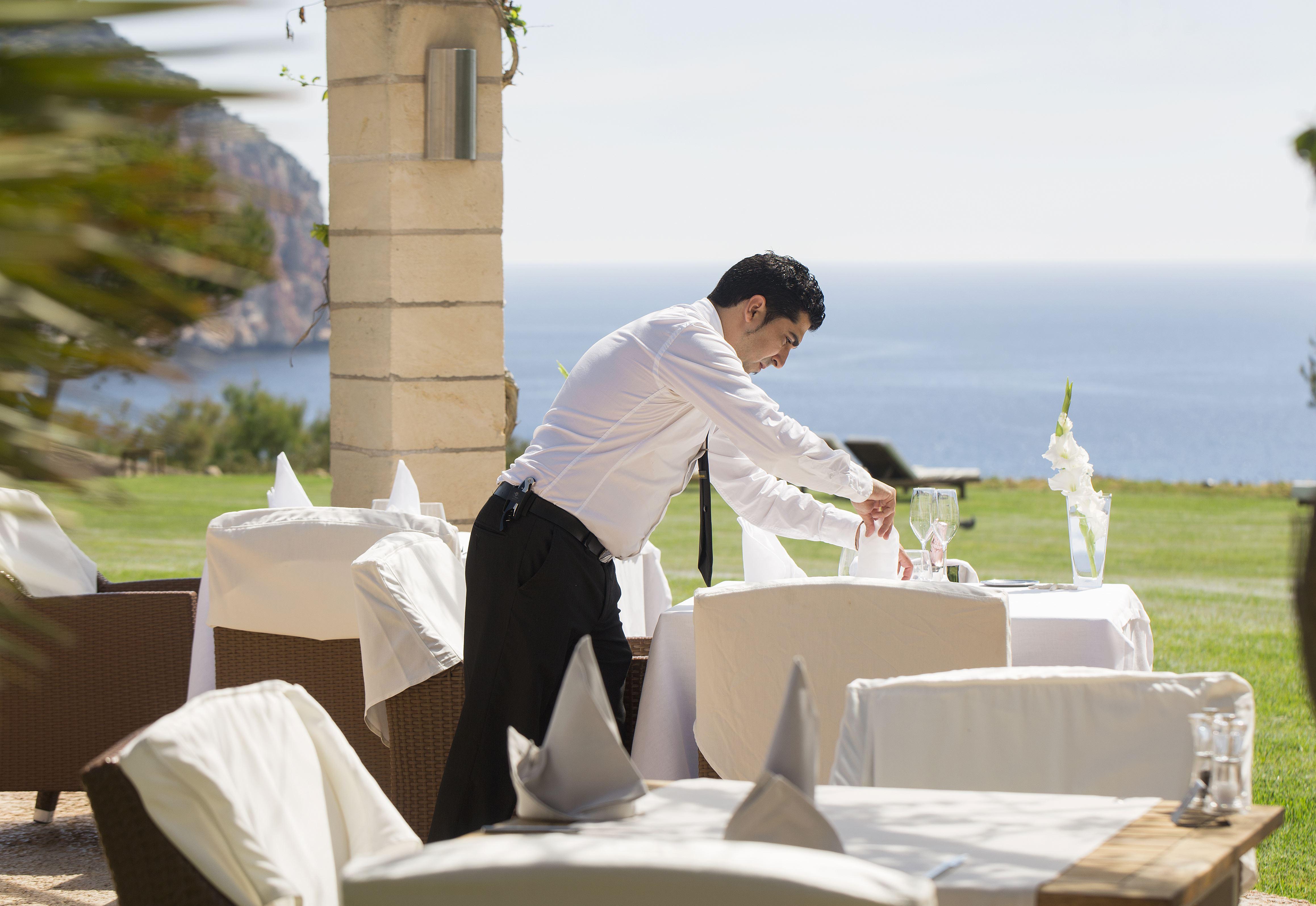 Hotell Can Simoneta: På en klippa med fantastisk utsikt över havet