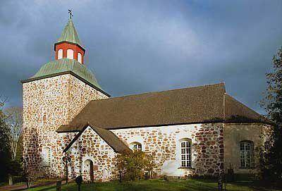 Saltvikin kirkko - S:ta Maria kyrka