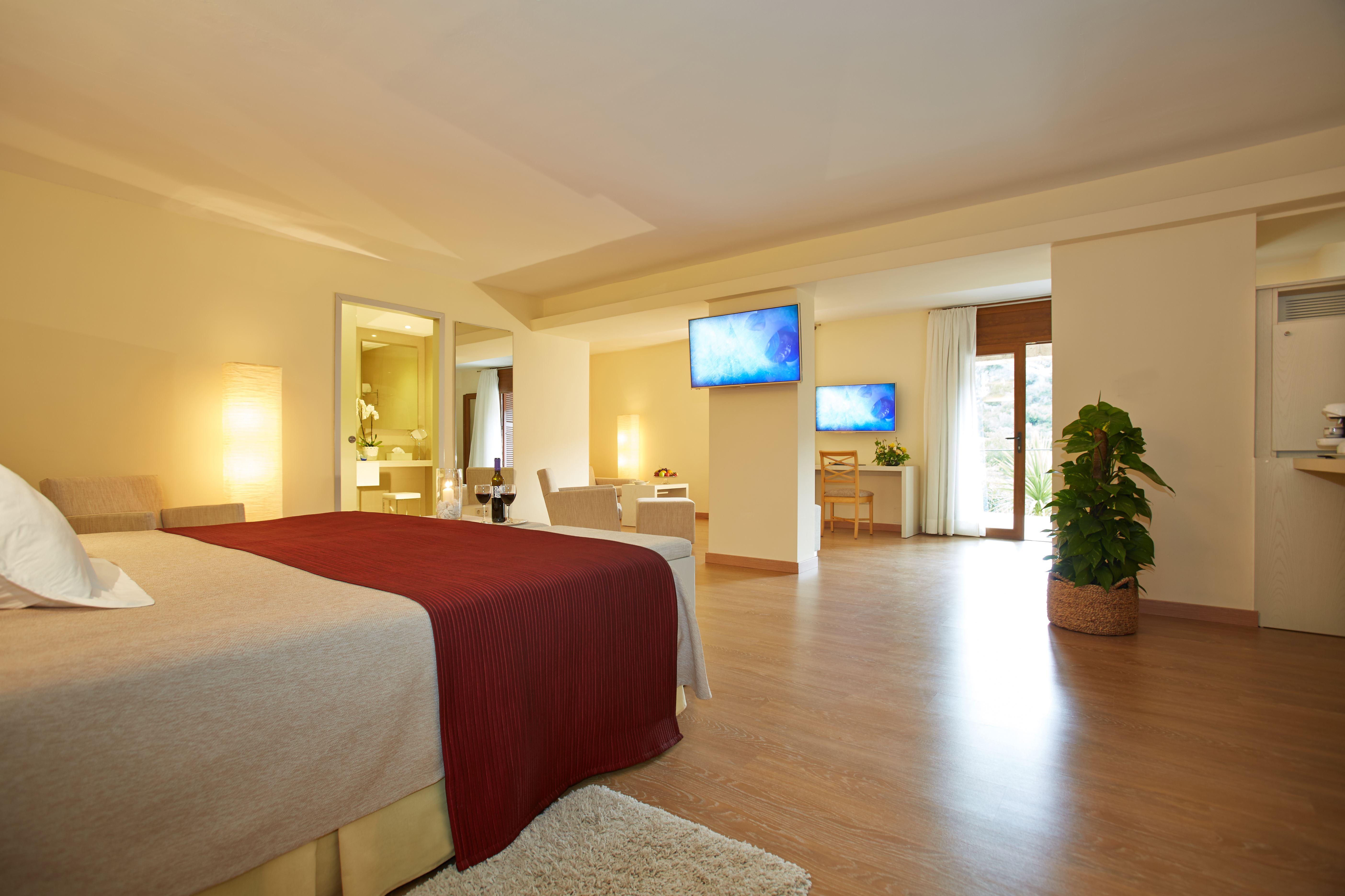 Rum på L´Hermitage Hotel & Spa, Orient Mallorca