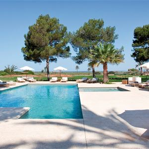 Poolområde på Fontsanta Hotel Thermal Spa & Wellness, Colonia de Sant Jordi Mallorca