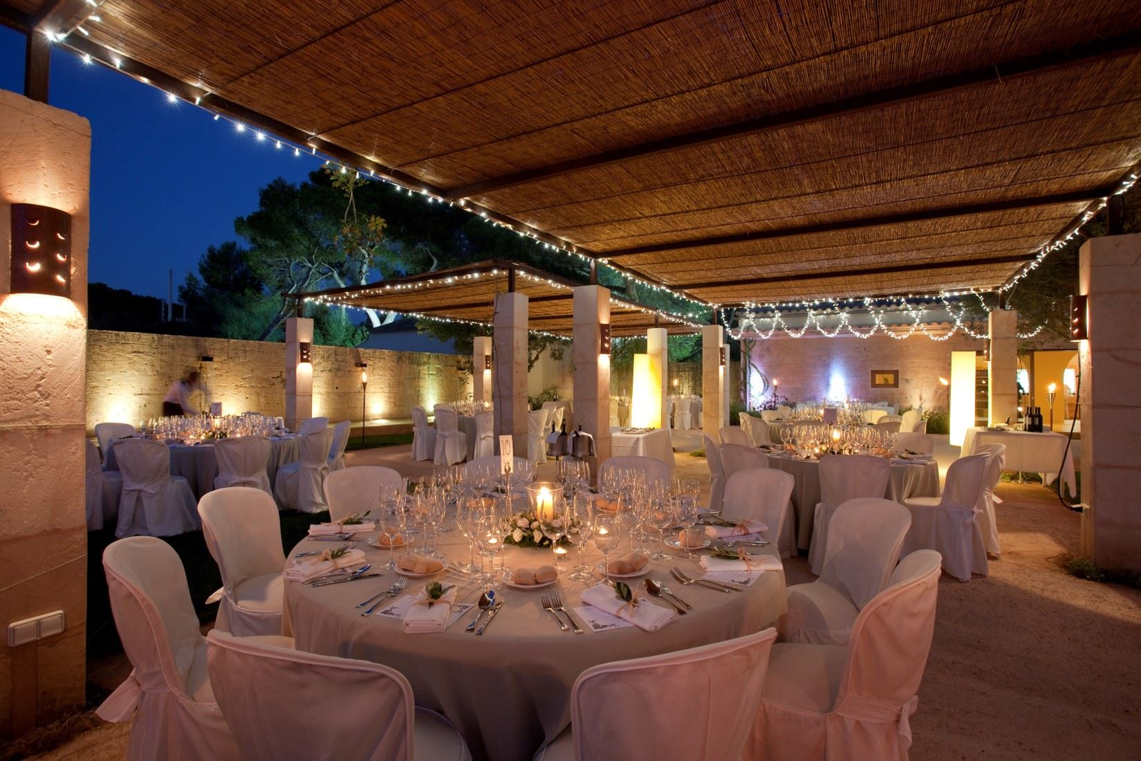 Restaurang på Fontsanta Hotel Thermal Spa & Wellness, Colonia de Sant Jordi Mallorca