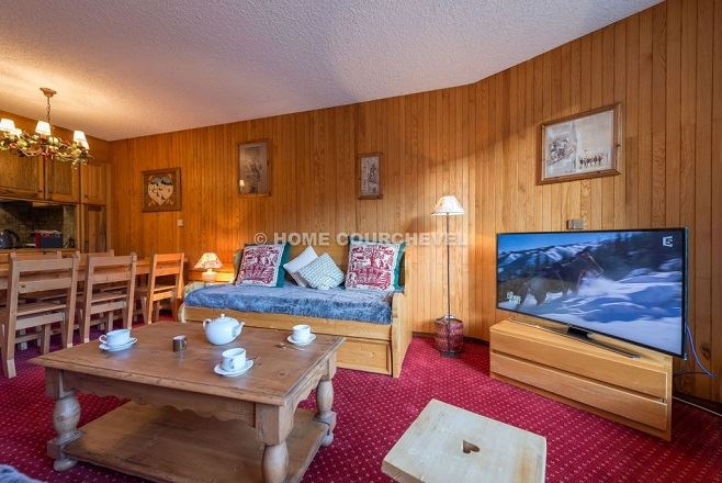 2 rooms, 5 people ski-in ski-out / Domaine du Jardin Alpin 104B (montagne de charme)