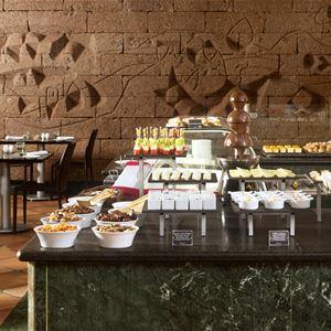 Restaurang på Hotell Melia Salinas, Costa Teguise Lanzarote