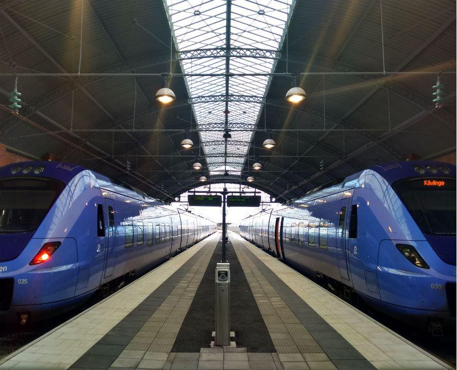 Jens Johannisson, Trelleborg Central station