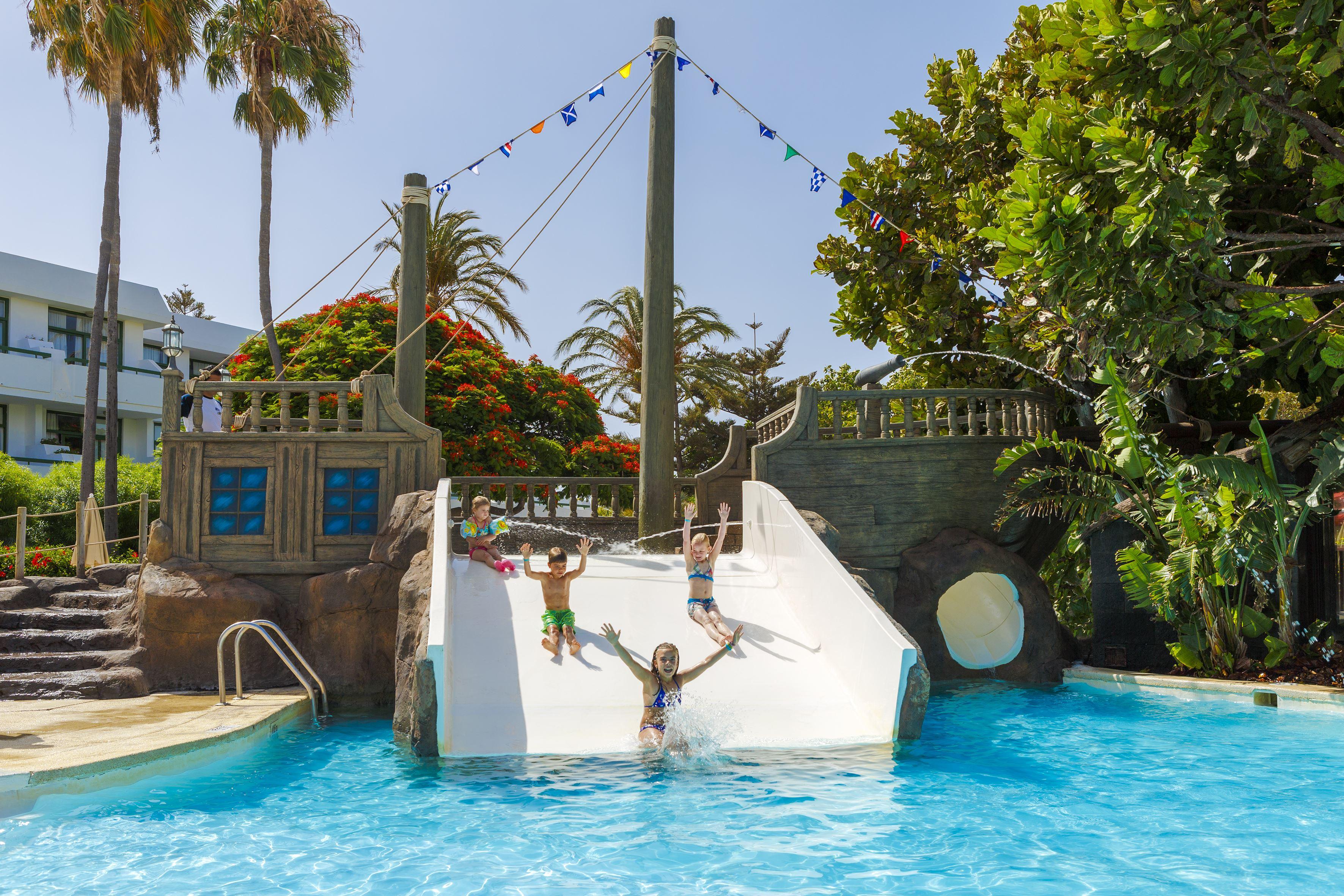 Pool på Hotell H10 Lanzarote Princess, Playa Blanca Lanzarote